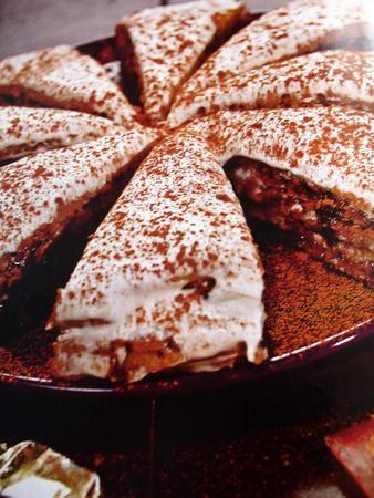 Італійський горіхово-шоколадний торт