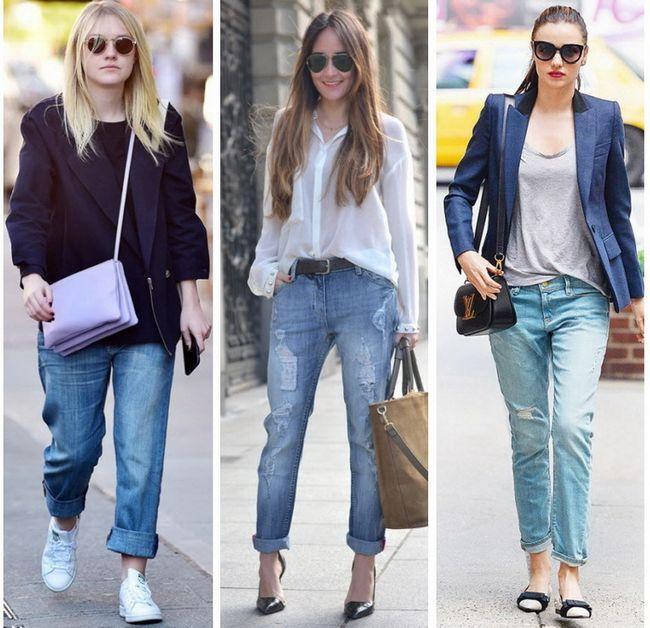 Як і куди носити джинси-бойфренди: 44 модних образу