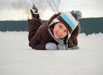 Зимові види спорту для дитини: ковзани