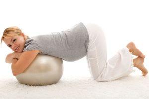 Колінно-ліктьове положення при вагітності