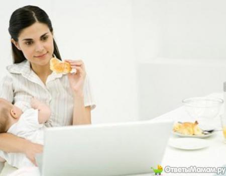 меню харчування годуючої жінки