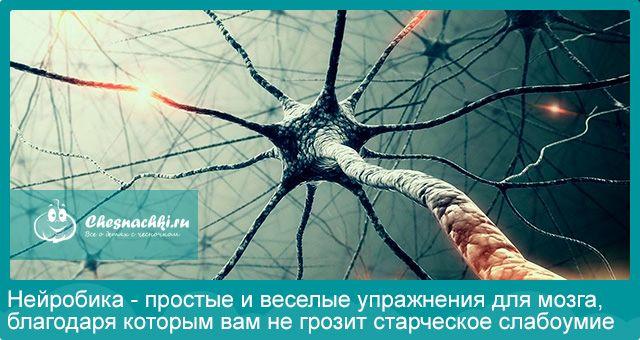 Нейробіка - прості і веселі вправи для мозку, завдяки яким вам не загрожує старече недоумство