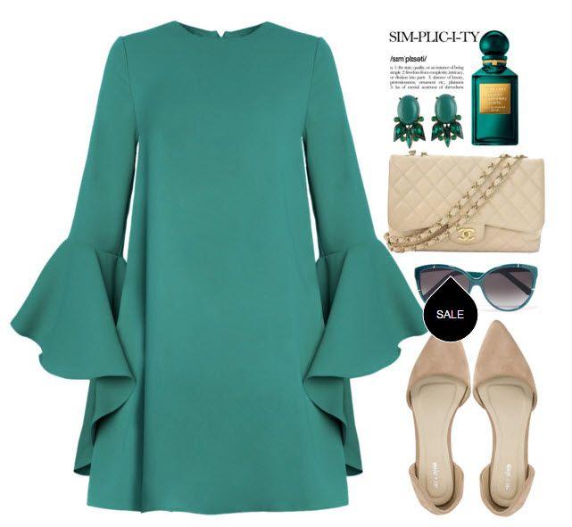 Повсякденна сукня на осінь - як залишатися модною і привабливою