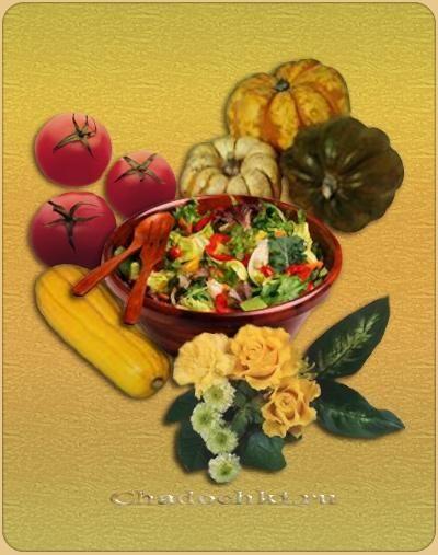 Рецепт - Овочевий відвар