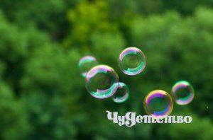 Рецепти мильних бульбашок