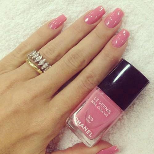 Рожевий манікюр - 85 кращих тенденцій