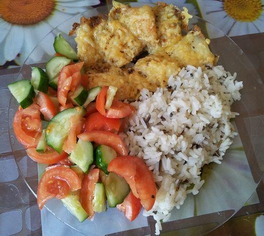 Риба, запечена в духовці під сиром