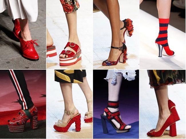 Наймодніші туфлі на літо і весну 2017