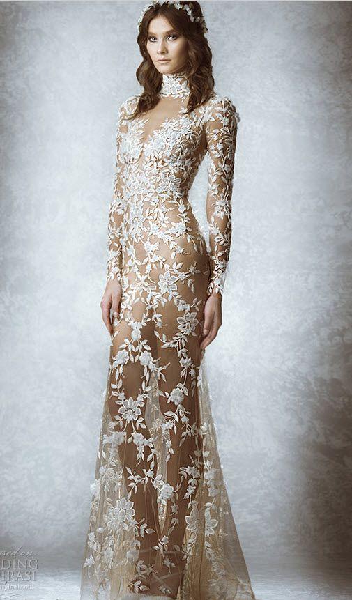 Весільні сукні з рукавами