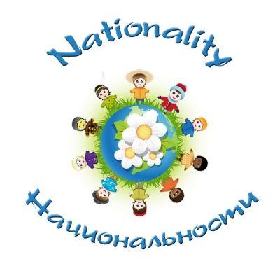 Тема уроку: «Національності, їх відмінні риси». Англійською мовою з вимовою