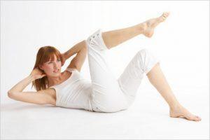 Вправи в перші дні після кесаревого розтину